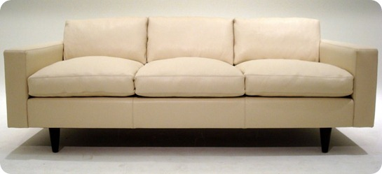 Custom 56 Sofa - Oasis White - Couch