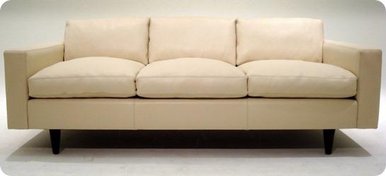 Custom 56 Sofa - Oasis White - Couch