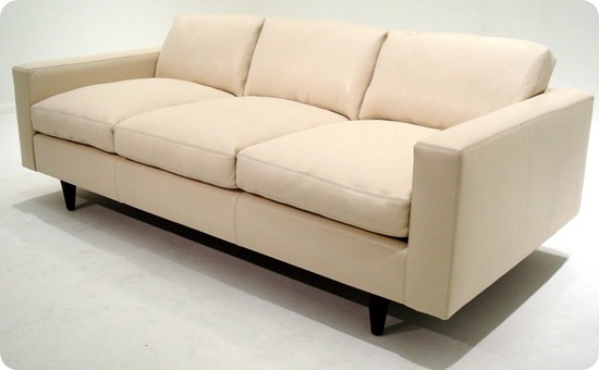 Custom 56 Sofa - Oasis White - Couch (2)