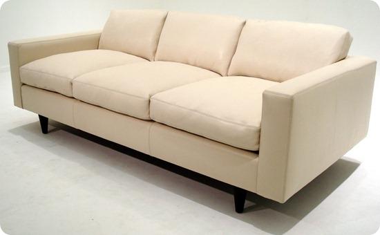 Custom 56 Sofa - Oasis White - Couch (2)