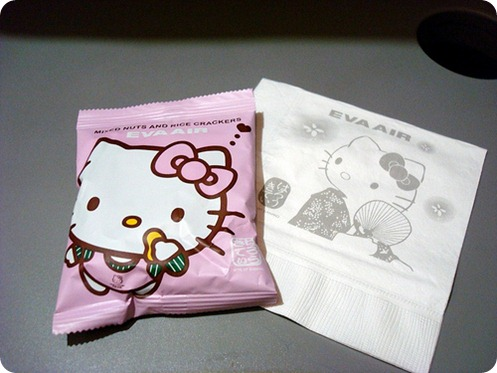 Eva-Airways-Hello-Kitty-snack