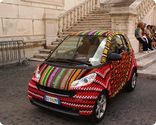 crochet_covered_smart_car
