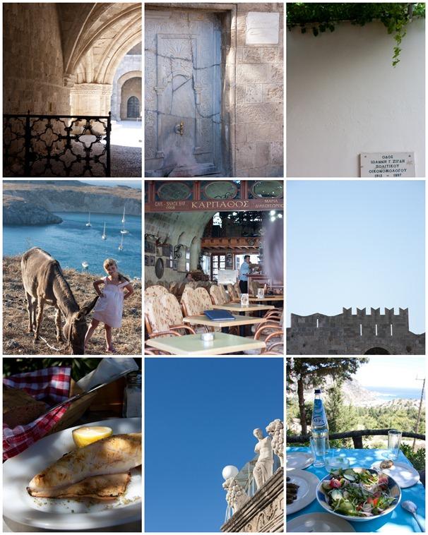 Rhodes Collage
