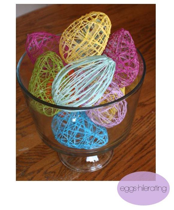 string-eggs