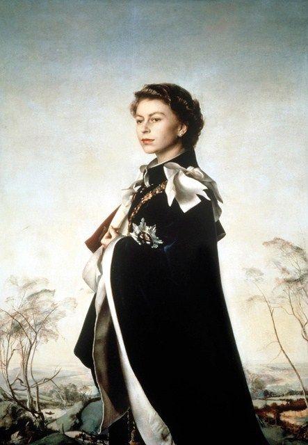 queen-annigoni-portrait-garter