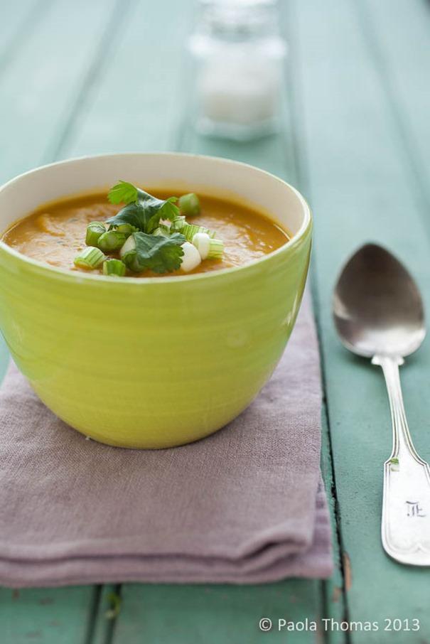 Pumpkin and Coconut Soup
