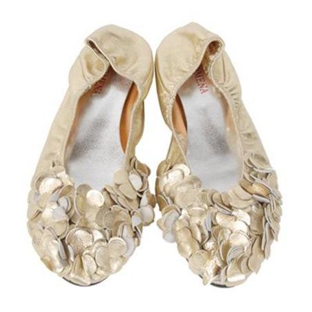 dahlia petal shoes